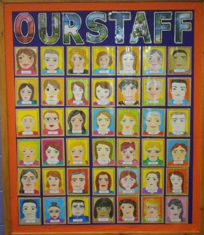 our staff display